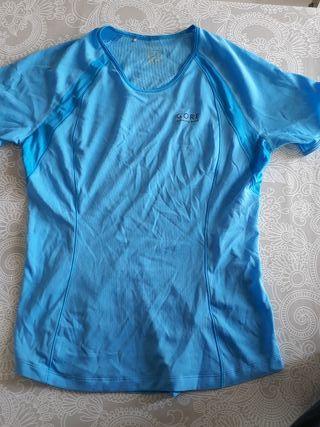 camiseta manga corta mujer GORE M