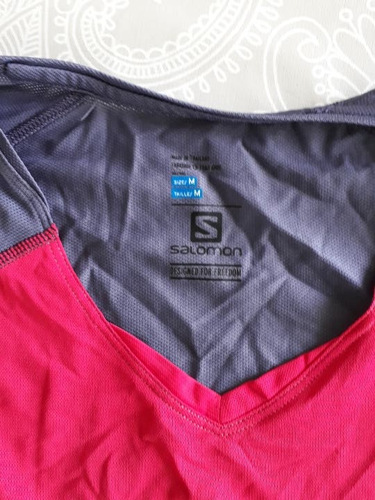 camiseta Salomon ActiveDry mujer talla M