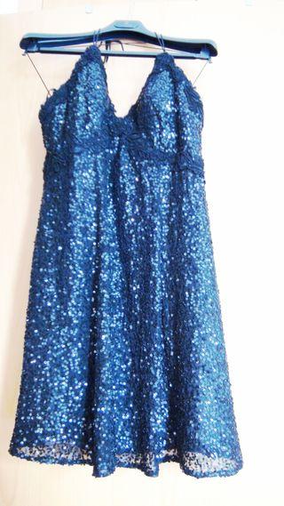 Vestido de fiesta, firma, boutique (295€ valía)
