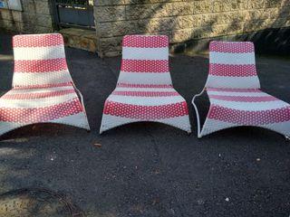 sillas jardín terraza