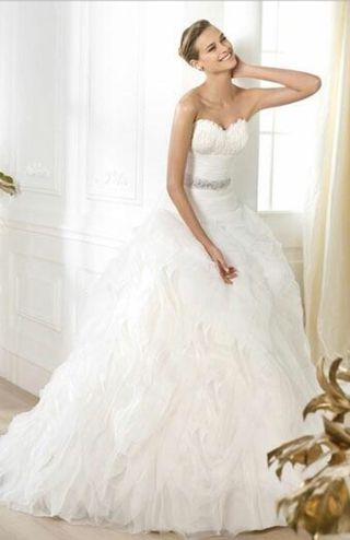 Vestido novia Pronovias talla 40-42
