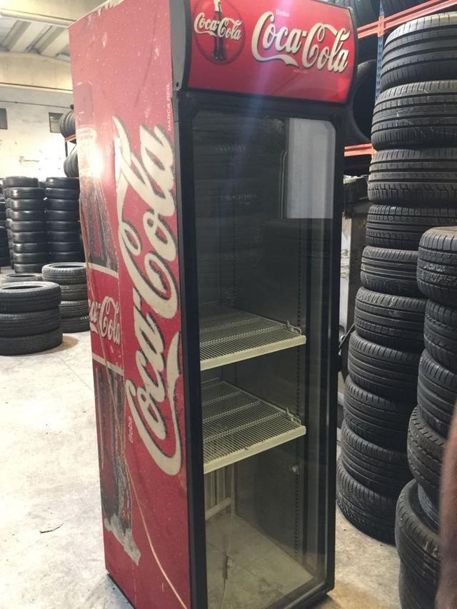 Nevera Cocacola Alta Varios Carriles Regulables De Segunda Mano Por