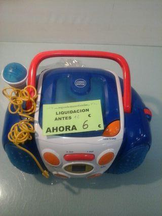 caraoke, radio, para niños garantía de calidad