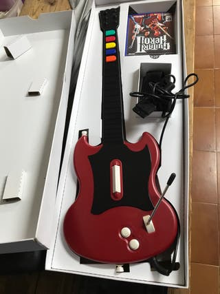 Juego play 2,guitar herro