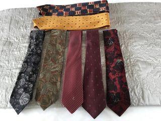 Selection of Italian Men's Silk Ties.