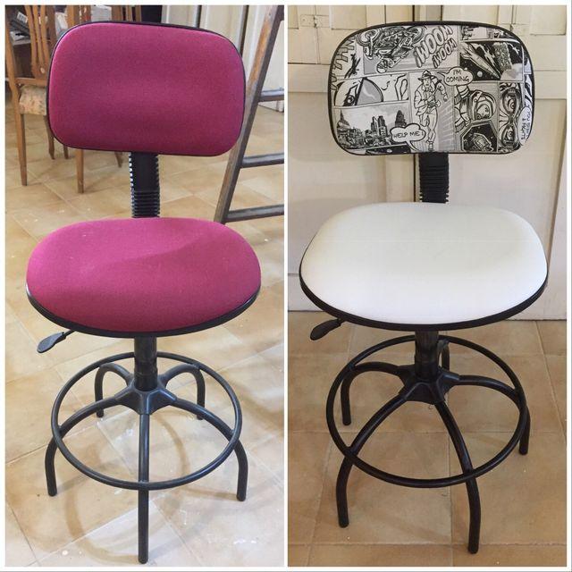 Tapizado de sillas de oficina de segunda mano por 30 € en A ...