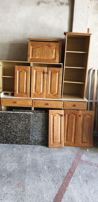 Muebles de cocina clasicos impecables. de segunda mano por 600 € en ...