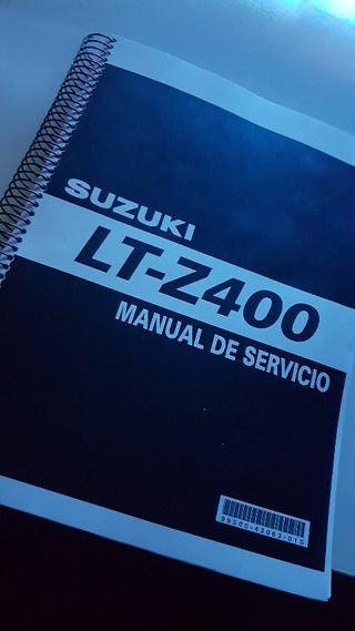 Manual de suzuki ltz kawasaki kfx