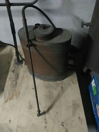 sulfatadora de cobre
