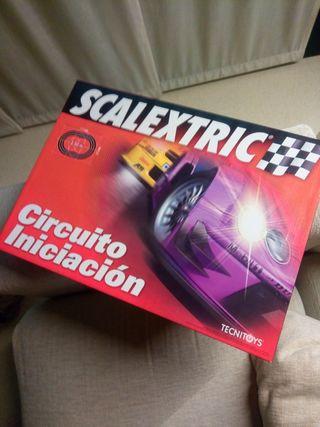 Circuito iniciacion Scalextric.
