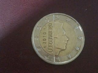 moneda 2€ Luxemburgo 2010