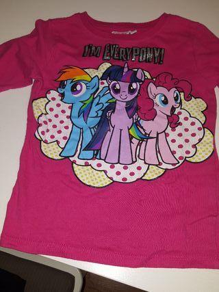camiseta niña 3 -4 años de my little pony