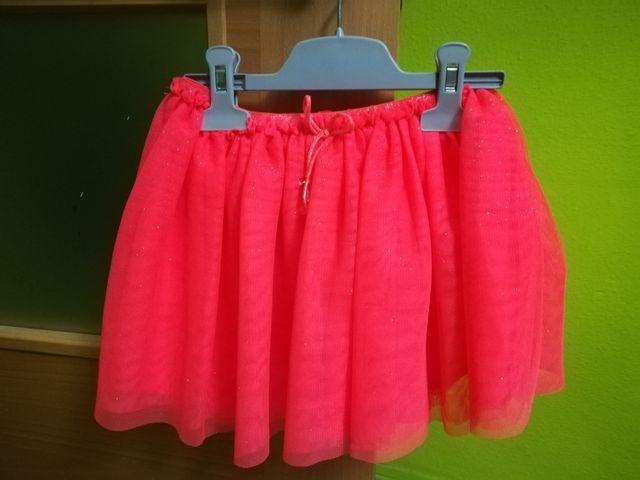 f1edacb15 Falda de tul niña naranja de 2-4 años de segunda mano por 3 € en ...