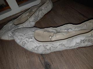 Zapatos novia 40 o niña comunión