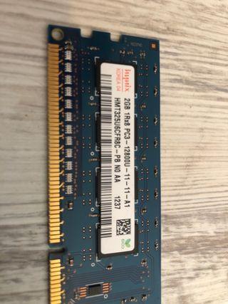 RAM 2Go PC3 12800U