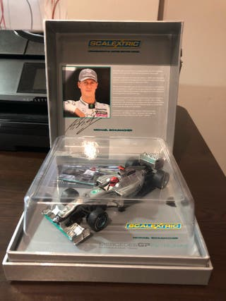 Scalextric uk Mercedes F1 Schumacher 3148A