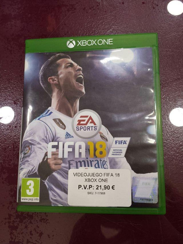 VIDEOJUEGO FIFA 18 XBOX ONE