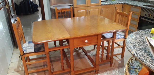 Mesa rústica cocina de segunda mano por 150 € en Manuel en WALLAPOP