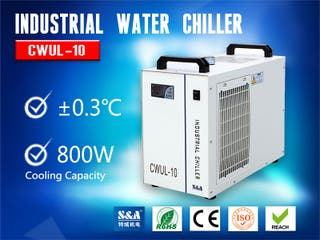 S&A Water Chiller Unit CWUL-10 Cooling UV laser