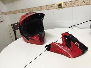 Casco de moto Fox