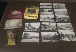 Colección postales antiguas de Madrid