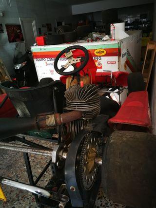 kart + Suzuki Burgman 400