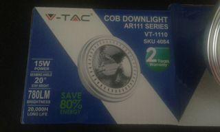 2 Led COB DOWLIGHT AR111