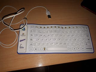 teclado enrollable