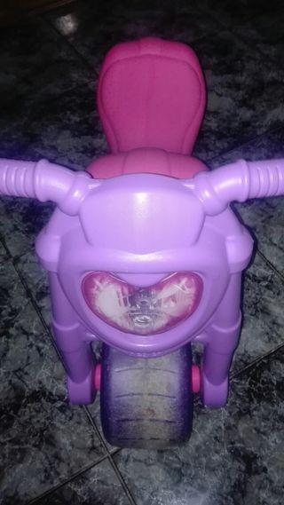 moto de niña