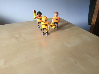 Árbitros playmobil