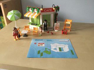 Playmobil cafetería del puerto