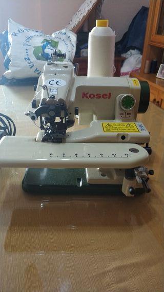 Máquina de coser de puntada invisible. Kosel