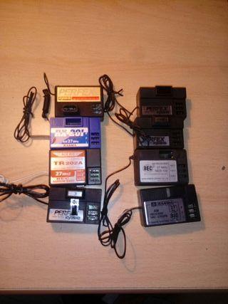 Receptores en AM 27 mhz dos canales.