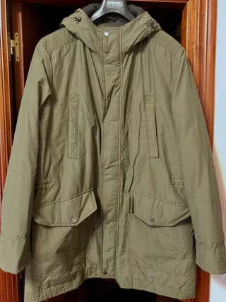 Parka hombre Geox Avery man transpirable verde