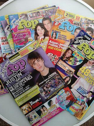 "AÑO 2010 ""SUPER POP"" 5x7.5€"