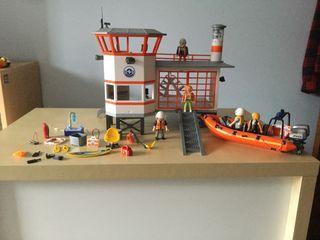 Playmobil base de los guardacostas (5539)