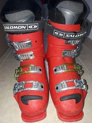 Botas esqui Salomon 23