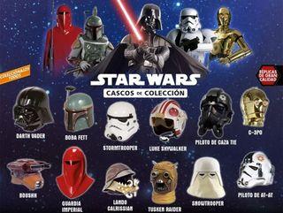 Colección completa Cascos Star Wars