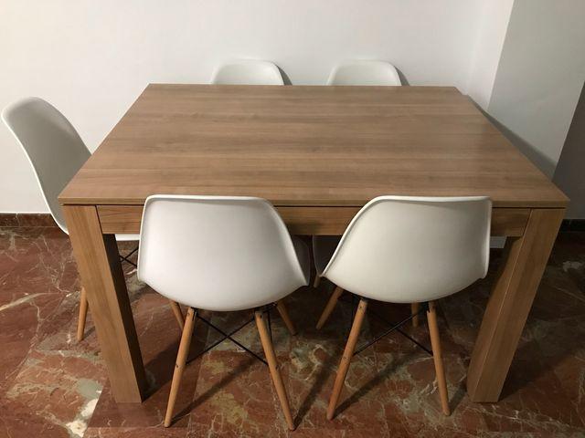 Conjunto mesa comedor completo de segunda mano por 300 € en Puerto ...