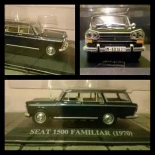 SEAT 1500 FAMILIAR 1970 ESCALA 1/43