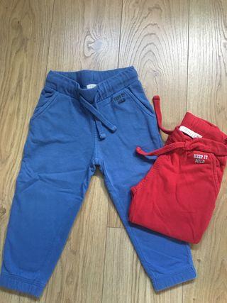 Pantalones chándal 12-18 meses