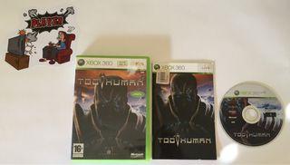 Too Human Xbox 360