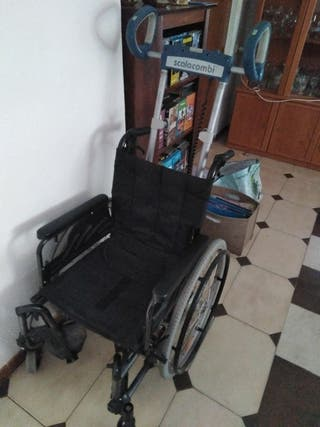 Sillas de ruedas sube escaleras de segunda mano en wallapop for Silla sube escaleras manual