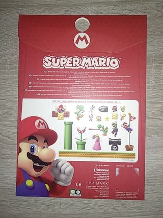Pegatinas Super Mario para portatil/tablet/móvil