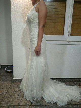 vestido de novia de segunda mano por 450 € en sant vicenç dels horts