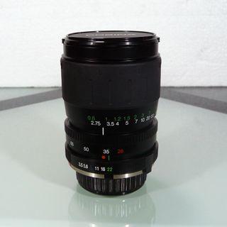 Objetivo para minolta md 28-80mm f3.5-5.6 macro
