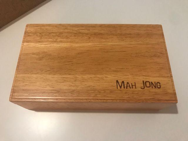 Juego De Mesa Oriental Mah Jong De Segunda Mano Por 20 En