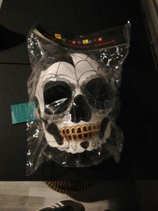 Masque Halloween mexicaine tête de mort