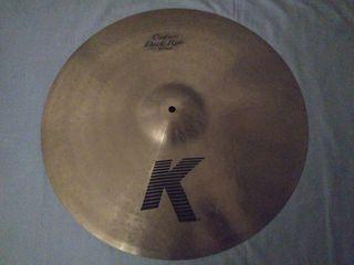 """Ride Zildjian K Dark Custom 20"""""""