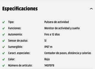 Pulsera de actividad SK8 Active de segunda mano por 10 € en ... 6907404e13c1